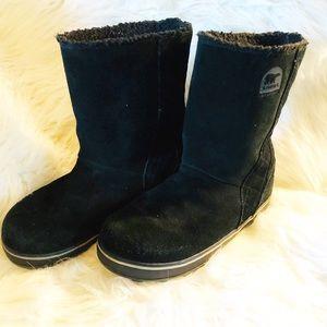 Sorel suede winter boots
